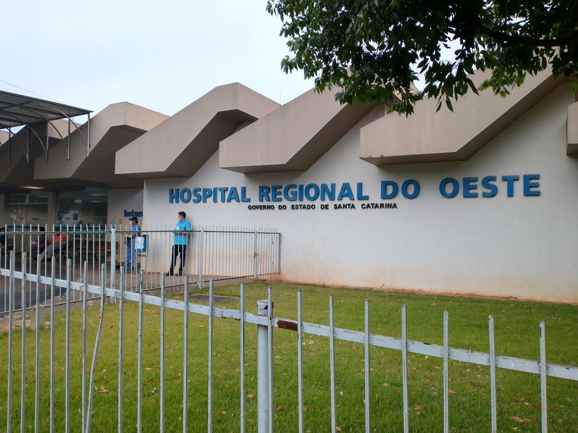 Hospital Regional do Oeste (Foto: Joel Alves)